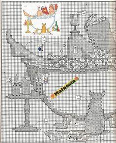 Todos los esquemas de punto de cruz que te puedas imaginar | Aprender manualidades es facilisimo.com