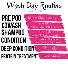 Simple washday routine for curly hair