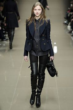 Burberry Prorsum Fall 2010 Ready-to-Wear Collection Slideshow on Style.com