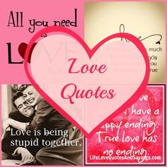 """I love the """"I Love Lucy"""" quote . . . """"Love is being stupid together."""" If that ain't the truth!!! :) :) :)"""