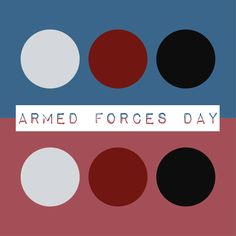 Tomorrow is Armed Forces Day. Support the troops!