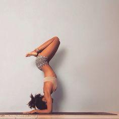 Yoga - Good for the body - Good for the soul #fitspo #bikinidotcom
