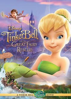 "Check out ""Tinker Bell and the Great Fairy Rescue"" on Netflix"