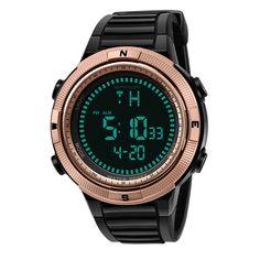 Skmei Mode Sport Uhr Männer Wasserdichte Led Digital Uhren Männer Luxus Marke Militär Outdoor Relogio Masculino Uhr Mann Alarm Herrenuhren Uhren