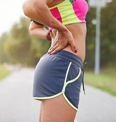 Low back pain may be due to tightness in muscles. Muscle weakness may also contribute to pain. Get more active and try glute stretches for lower back pain. Lower Back Pain Stretches, Lower Back Muscles, Low Back Pain, Hamstring Stretching Exercises, Hamstring Muscles, Tight Hamstrings, Glutes, Flatter Stomach, Fitness Gadgets
