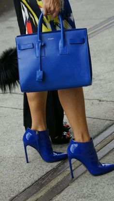 Love, love these shoes and purse!