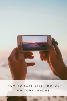 How to Take Live Photos on Your iPhone via @PureWow