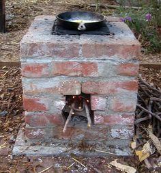 Look!   DIY Outdoor Stove