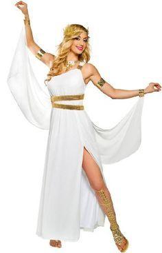 Resultado de imagen para disfraz griega sabana
