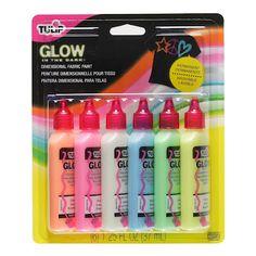 Gotta love glow! #glow http://www.ilovetocreate.com/Tulip-3D-Fashion-Paint-130