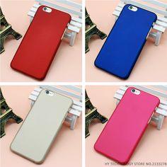 Para el caso iphone 7 moda de goma helada mate de plástico para iphone 4 4S 5 5S 5C 6 6 S Más 7 7 Plus Cubierta Del Teléfono Celular Casos