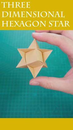Paper Folding Crafts, Fun Diy Crafts, Paper Crafts For Kids, Creative Crafts, Origami And Kirigami, Paper Crafts Origami, Origami Art, Origami With A4 Paper, Origami Tutorial