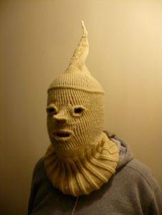 Spooky Knit Ski Mask - CraftStylish