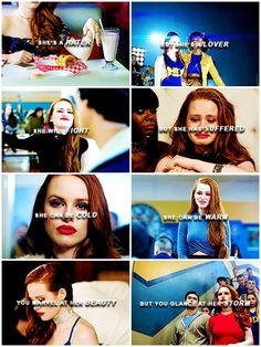 you don't have to choose between fire and ice#cheryl#riverdale