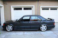 Mercedes-Benz 190E 2.3-16 Mercedes Benz 190e, Benz S, Classic Pickup Trucks, Street Racing Cars, Porsche 964, Cool Vans, Old School Cars, Honda, Bmw