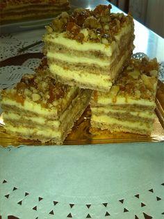 Reteta Prajitura Krantz Romanian Food, Tiramisu, Caramel, Sweets, Cookies, Baking, Ethnic Recipes, Sticky Toffee, Crack Crackers