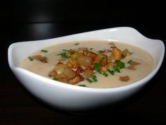 Bryndzový krém - demikát - recept | Varecha.sk Thai Red Curry, Soup, Cooking, Ethnic Recipes, Kitchen, Soups, Brewing, Cuisine, Cook