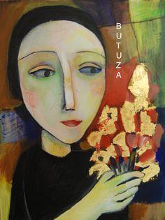 Swiss Artist Painter   Painted by Cathy Butuza   outsiderart artbrut