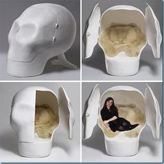 Skull Bed - for the goth?