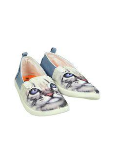 Pumpkin Patch - footwear - girls neon cat slip on - S3FW30045 - white - 1 to 13