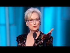 Meryl Streep Cries Over Donald Trump at Golden Globes  ~   They are part of a secret society that worship and do ritual to the evil one.