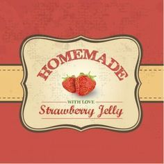 strawberry labels - Google Search