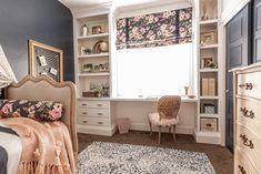 Built In Desk   Upcycling At Its Best Built In Desk, Built Ins, Modern Cottage Style, Small Dresser, Second Hand Furniture, Desk Shelves, Upcycle, Reuse, Paint Furniture