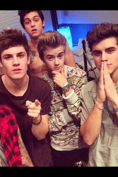 Omaha Boys! Sammy Wilk, Nate Maloley, Jack Johnson, and Jack Gilinsky