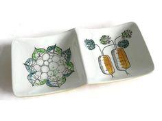 Vintage Rorstrand Dish  Design ' My Garden ' by 20thCenturyEurope