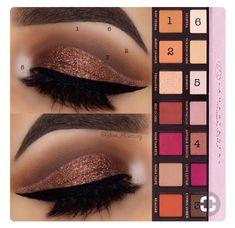 Stunning makeup look using Anastasia Beverly Hills Modern Renaissance Palette an - Makeup Tutorial Lipstick Makeup Goals, Love Makeup, Makeup Inspo, Makeup Inspiration, Makeup Tips, Makeup Ideas, Makeup Tutorials, Beauty Makeup, Makeup Art