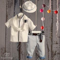 Βαπτιστικό Σύνολο για Αγόρια Fashionistas | Angel Wings 093 Boy Christening, Baby Birthday, Boy Outfits, Clothes, Women, Fashion, Boyish Outfits, Outfits, Moda