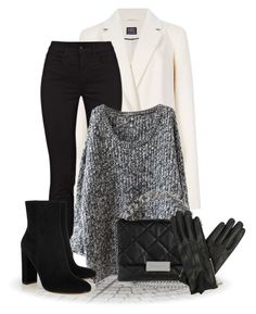 """""""For the love of Gloves (OUTFIT ONLY!)"""" by bliznec ❤ liked on Polyvore featuring J Brand, Gianvito Rossi, STELLA McCARTNEY and Oasis"""