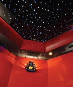 CineStarPanel™ Star Ceiling Panels...Ideal for Home Theaters, Media Rooms, Rec Rooms and virtually anywhere in your home, they're also perfect for commercial settings such as Restaurants, Bars,  Night Clubs, Performance Venues and even Corporate Boardrooms.