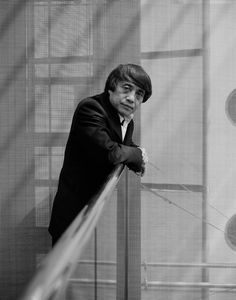 """Tadao Ando (1941) - Japanese self-taught architect approach to architecture and landscape was categorized by architectural historian Francesco Dal Co as """"critical regionalism"""". Photo © Dominik Gigler"""