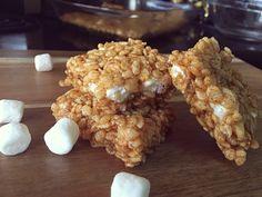 Pumpkin Pie Rice Krispies Treats | My Creative Twist