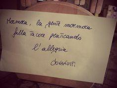 Lorenzo Jovanotti frasi - Cerca con Google