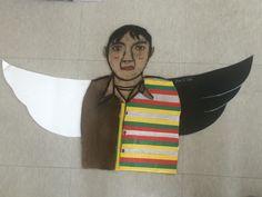 """Just Sean It."" Choi. 2015. Portrait on Cardboard after"