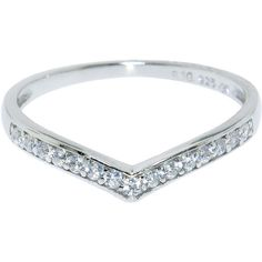 Eternally Haute Sterling Silver Pave Princess Tiara Ring (1,210 INR) ❤ liked on Polyvore featuring jewelry, rings, silver, pink sterling silver ring, sterling silver jewelry, rose ring, 14k ring e anniversary rings
