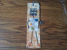 Gus the Robot--Bookmark