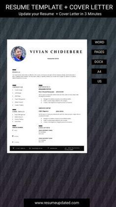 Cv Design Template, Modern Resume Template, Resume Templates, Cover Letter For Resume, Cover Letter Template, Letter Templates, Creative Resume, Resume Design, Professional Resume