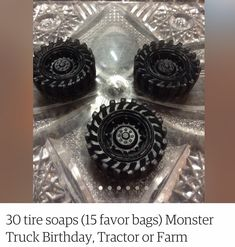 Tractor Birthday, Farm Birthday, Favor Bags, Tractors, Class Ring, Monster Trucks, Favors, Goodie Bags, Presents