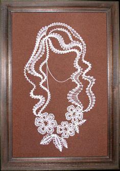 Дамы - Аня Журавлева - Picasa Albums Web Nail String, String Art, Fabric Stiffener, Romanian Lace, Bobbin Lace Patterns, Lace Making, Pattern Paper, Homemade Cards, Art Decor