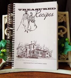 Grace Episcopal Church's Treasured Recipes Cookbook is once again available!! This Second Edition cookbook was original written in 1982 and has 450+ pages full of good old fashion southern recipes tha