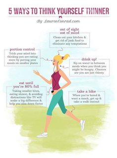 5 Ways to Think Yourself Thinner