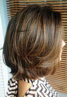 Haircuts For Medium Hair, Short Hairstyles For Thick Hair, Haircut For Thick Hair, Medium Hair Cuts, Short Hair Cuts, Medium Hair Styles, Curly Hair Styles, Hairstyle Short, Hair Updo