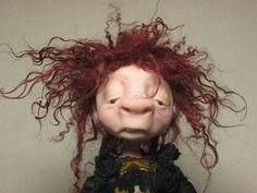 Molly Goblin by HomespunDolls on Etsy, $125.00