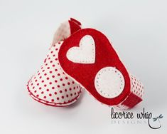 Red and White Polka Dot Baby Booties Unique Baby Girl Gift Baby Booties, Baby Shoes, Unique Baby Girl Gifts, Red And White, Polka Dots, Booty, Etsy, Trending Outfits, Unique Jewelry