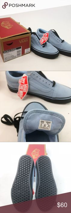 Vans- Old Skool (suede) angel falls/ black 8 Vans- Old Skool (suede) angel falls/ black Brand New in Box! Never been worn!  women's size 8, men's size 6.5, euro 38.5 Vans Shoes Sneakers