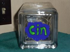 Lid to Gir From Invader Zim Candy Jar painted by Fawn