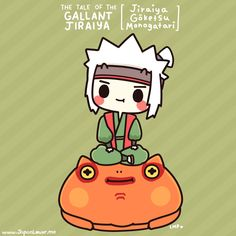 "While some of you might already know that the Jiraiya from Naruto was based from the folktale Jiraiya Gōketsu Monogatari (""The Tale of the Gallant Jiraiya""), here's the story again! ^^  The original story is quite long (and has been interpreted differently by various authors and storytellers), but here's the more simplified version ^^~ The story goes like this: www.facebook.com/JapanLoverMe  ♥ www.japanlover.me ♥ www.instagram.com/JapanLoverMe japanlover.me/cool/ ♥  art by…"